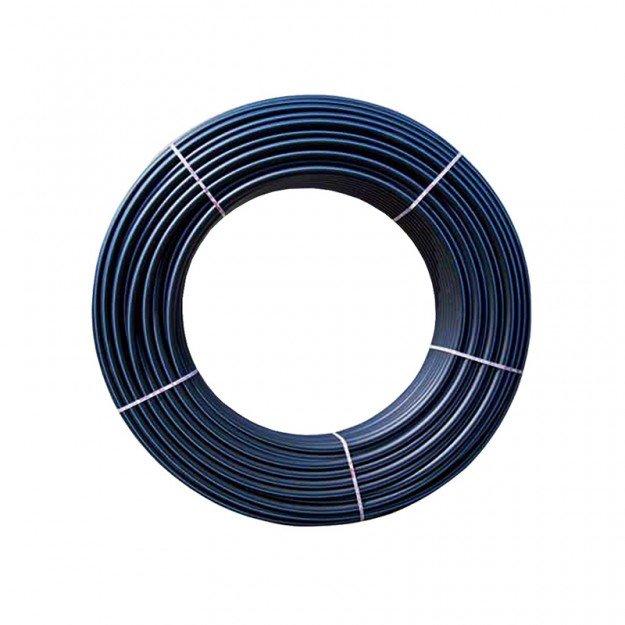 Тръба полиетилен HDPE PN6 Ф40 ролка 100m