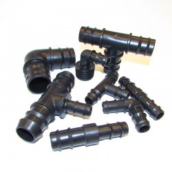 Оребрени фитинги за LDPE тръби