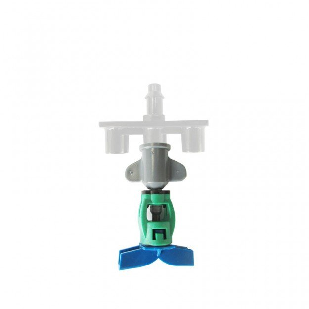 Микроразпръсквач GreenSpin, синя дюза 200 l/h (head only)
