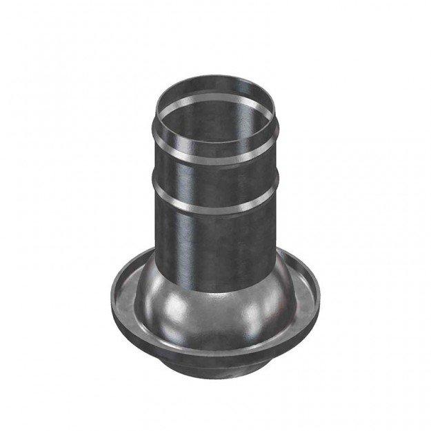 Фитинги Layflat Накрайник сферичен мъжки/оребрен 60х60