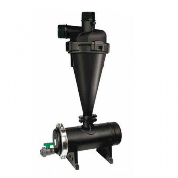 """Хидроциклонен филтър 3"""" резба, пластмасов 35 - 52 m3/h"""