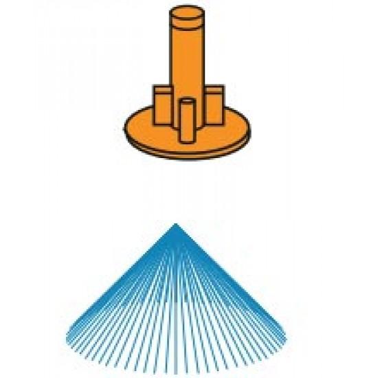 Микроразпръсквач Modular Close Spreader оранжева дюза 120 l/h (head only)