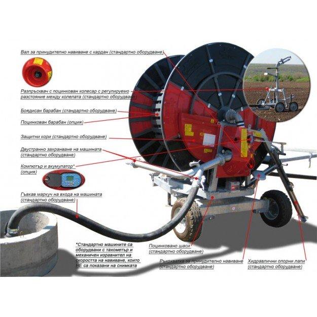 Дъждовална машина MARANI GT050B 100/400